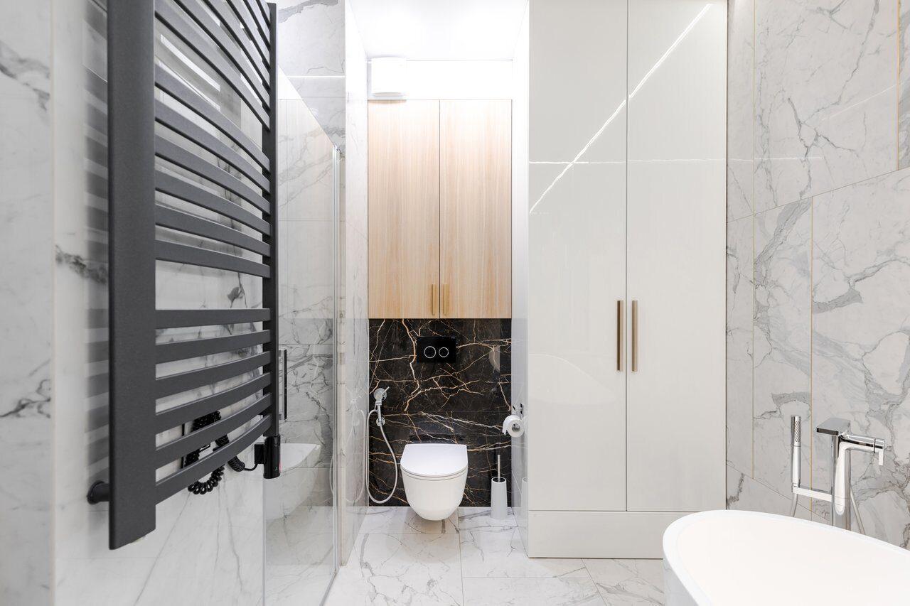 Шкаф в ванную Акватон