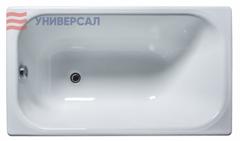 Ванна НОВОКУЗНЕЦК КАПРИЗ чугун, 1200х700х445, эмалированная, прямоугольн, без г/м, без ручек, белая